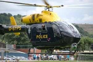 West Yorkshire Police helicopter