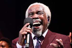 Billy Ocean is coming to Pontefract.