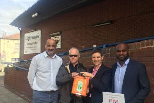 Life-saving defibrillators donated to Wakefield sports clubs