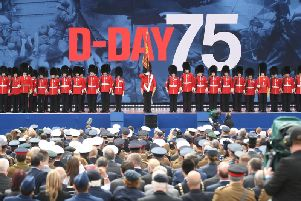 UK's main D-Day commemoration in Portsmouth.
