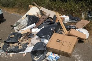 The council recently called on courts to hand fly-tippers tougher penalties.