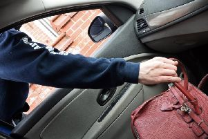 Police have seen a weekend increase in thefts from cars.