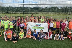 Rothwell Town JFC needs players for new girls' teams