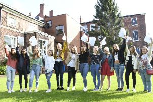 Wakefield Girls' High School are celebrating a 100 per cent pass rate for their A-Level students.