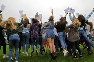 "Student at St Wilfrid's Catholic High School and Sixth Form College are celebrating an ""exceptional"" set of A-Level and vocational results. Stock image."