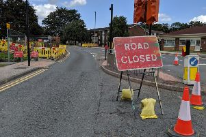 A diversion has been put in place as two weeks of roadworks on Stanley Road, Wakefield, begin.