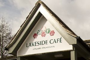 Lakeside Cafe at Hemsworth Water Park.