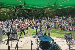 Around 4,000 people enjoyed the music in the Friarwood Valley Gardens to celebrate the second Friarwood Festival.