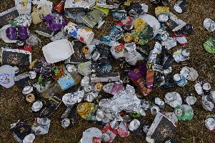 The number of fines being issued for littering has dropped considerably.