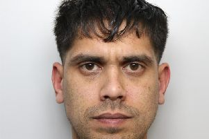 Damian Uddin rammed a police car five times as he tried to get away after failed burglary at derelict carpet warehouse