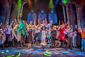Last few days to see Sister Act at Wakefield Theatre Royal, dont miss this epic musical of heavenly proportions!