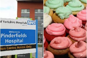 Staff from the Mid Yorkshire Hospitals NHS Trust and Wakefield Libraries will host a bake sale to raise money for dementia support in the district.