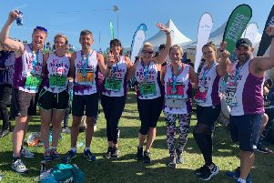 NSH staff complete Great North Run to help patients in Wakefield, Pontefract and Dewsbury
