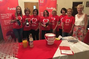 Wetherby Golf Club (WGC) hosted a fashion show event in support of British Heart Foundation.