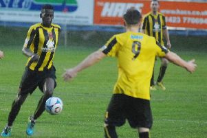 Harrogate Town midfielder Cecil Nyoni has been absent from the club's last two matches (1511282AM5)