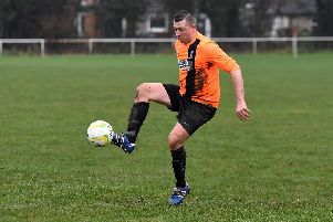 Matt McGlinchey played his first full 90 minutes in over a year (Photo: Visualised Photography)