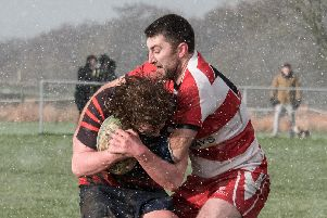 Wetherby captain Danny Warden kicked over two shots at goal against Leeds Modernians (Photo: Guy Roberts)