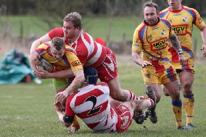 Wetherby were put under the pump by Buxton's forwards throughout Saturday's contest