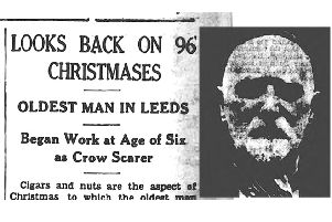 Christmas stories from the archives: Oldest man in Leeds looks back on 96 Christmases 1936