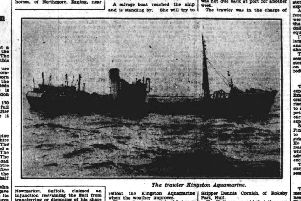 On this day in Yorkshire 1954: Weather foils salvage of grounded Hull trawler