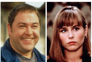 The Full Monty's Mark Addy and Brassed off star Tara Fitzgerald together in new Yorkshire feel-good film The Runaways. Photos: Fox Searchlight Pictures and Miramax Films.