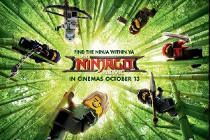 The LEGO Ninjago Movie in UK cinemas now. Copyright 2017 Warner Bros. Entertainment Inc. All Rights Reserved Copyright  2017 The LEGO Group