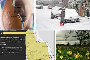 The Met Office has issued a warning for snow across Yorkshire this Easter weekend.