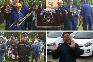 North Yorkshire Police were on duty at a number of events on Saturday including the Knaresborough Bed Race. PS Earl, bottom right, started his own 'Floss-off' on twitter as the great spirit of the day was captured by our officers.