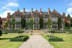 Hoar Cross Hall is Grade II-listed. Picture: Lindsay Pantry