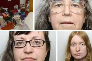 Pictured clockwise from top left, the room where Jordan Burling was discovered, grandmother Denise Cranston, sister Abigail Burling and mother Dawn Cranston.