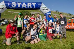 The Sheffield University Cavers we rescued took part in the successful Wharfedale Three Peaks fundraiser.