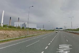The fatal collision happened on the A1(M) southbound near Ferrybridge. Picture: Google