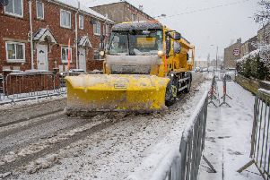 Heavy snow is predicted to hit large parts of Yorkshire today