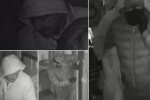 Police have released these images are part of the ongoing investigation.