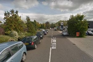 Firefighters were called to the scene of a crash in Thirsk Industrial Park. Picture: Google