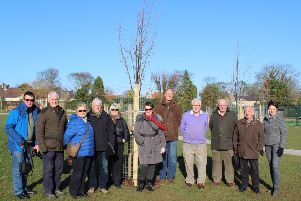 Trees take root thanks to new park sponsors