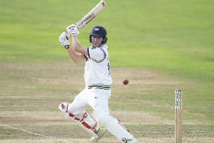 BEST FOOT FORWARD: Yorkshire's Gary Ballance. Picture: Allan McKenzie/SWpix.com.