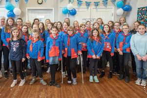 Guides centenary celebration marked