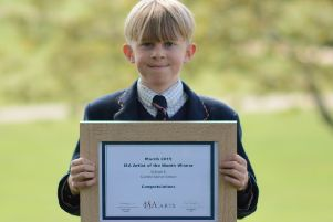 Pupil triumphs in national contest