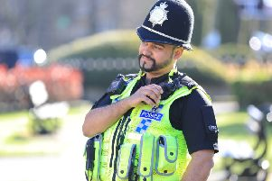 PC Iftikhar of North Yorkshire Police.