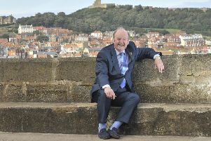 His production company is putting on a show about Scarborough Bombardment at the open air theatre in the town