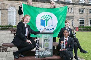 Eco pupils join campaign on recycling