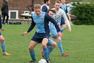 Karl Storr smashed five goals as Whitby Fishermens Society hammered Loftus FC 10-1