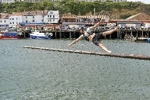 Just one of the many attractions of Whitby Regatta