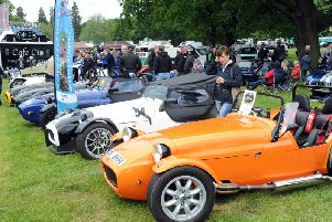 The classic, vintage and unusual cars on display at the show in 2016