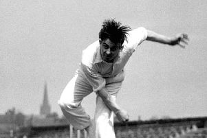 Yorkshire legend, Fred Trueman.