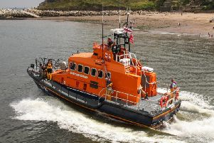 Whitby's all-weather lifeboat.