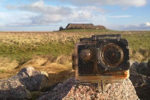 The camera has been found on the remote German island