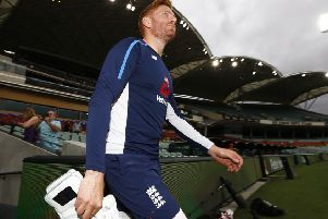 England's Jonny Bairstow during a nets session at the Adelaide Oval, Adelaide. (Picture: Jason O'Brien/PA Wire)