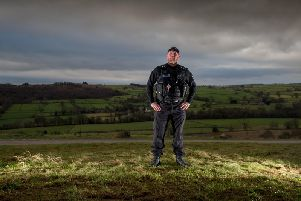 Kev Kelly has been named as the Wildlife Law Enforcer of the Year.